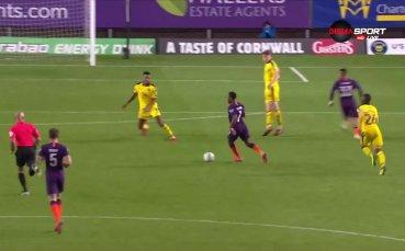 Дебютен гол за младок на Сити в професионалния футбол