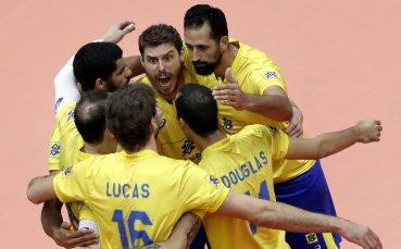 Бразилия спечели Световната купа по волейбол
