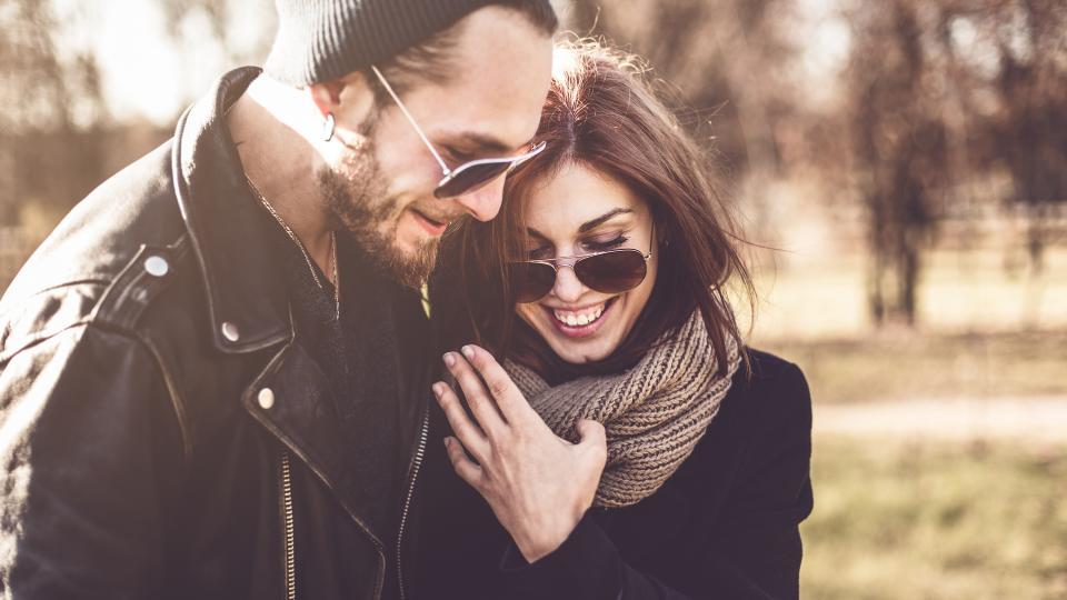 двойка есен любов