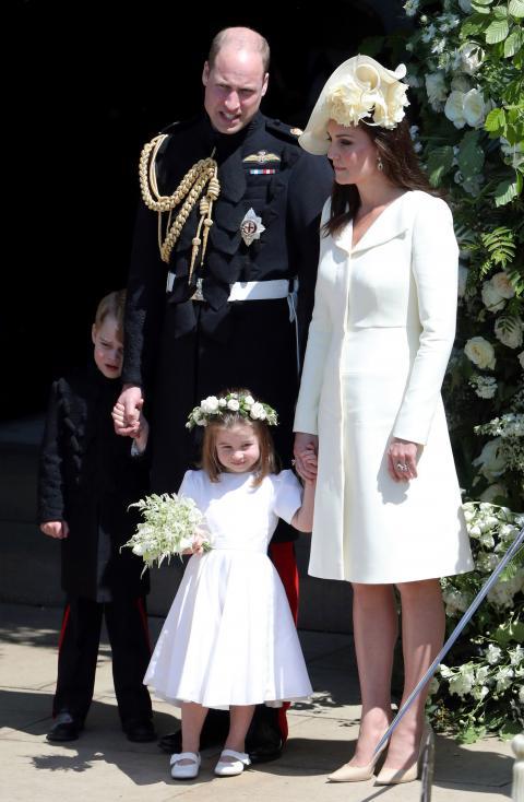 - Кейт Мидълтън на сватбата на принц Хари и Меган Маркъл