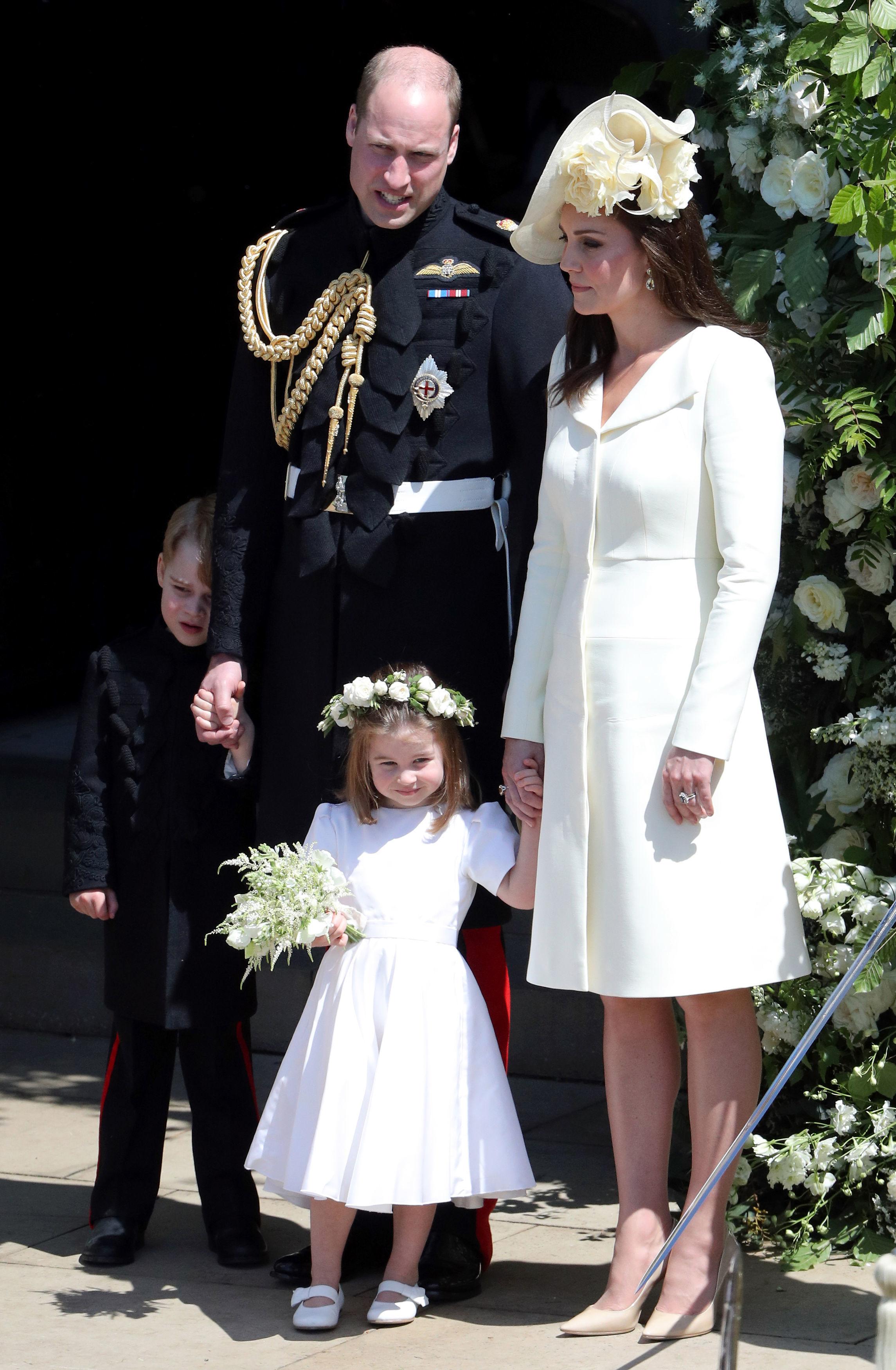 Кейт Мидълтън на сватбата на принц Хари и Меган Маркъл