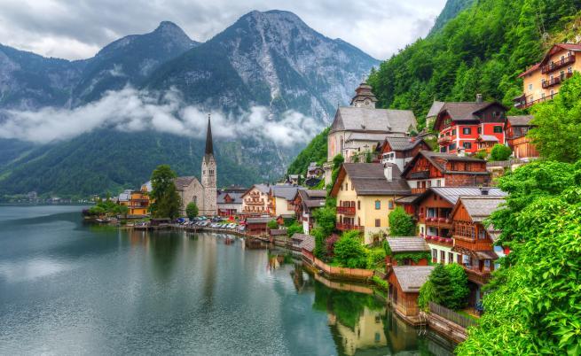 Едно от най-красивите градчетав света - Халщат