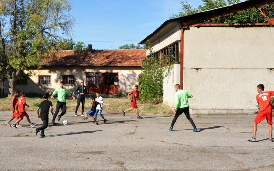 Играчи на Берое зарадваха ученици от Калояновец