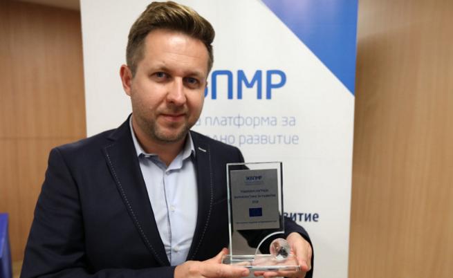 Престижно признание за репортера на NOVA Живко Константинов