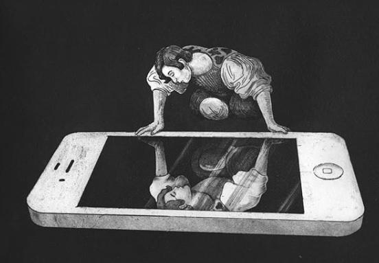 """""""Нарцисизъм в социалните мрежи"""", пише Марко Мелграти."""