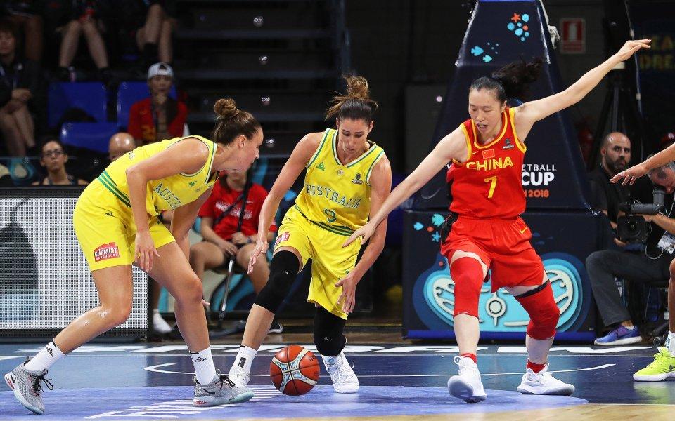 Баскетболистките на Австралия разгромиха Китай, Белгия разби Франция