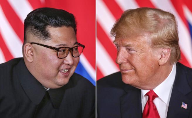 Тръмп: Аз и Ким се влюбихме