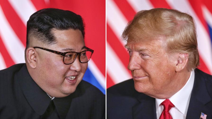 <p>Тръмп: Аз и Ким се влюбихме</p>