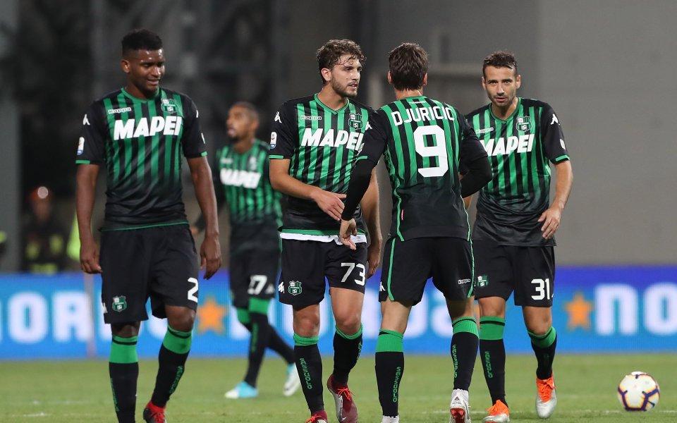 Сасуоло трудно прескочи тим от трета дивизия за Купата