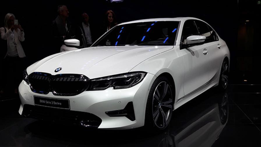 Новата Серия 3 на BMW е впечатляваща гледка на живо
