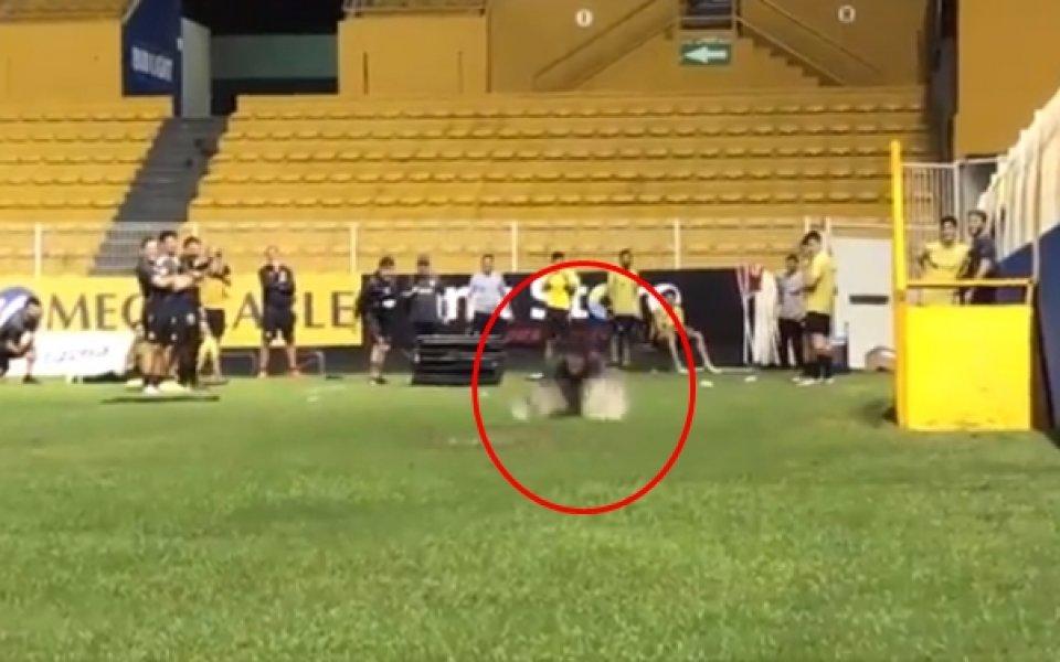 Марадона отново в действие - лудост или треньорски методи?