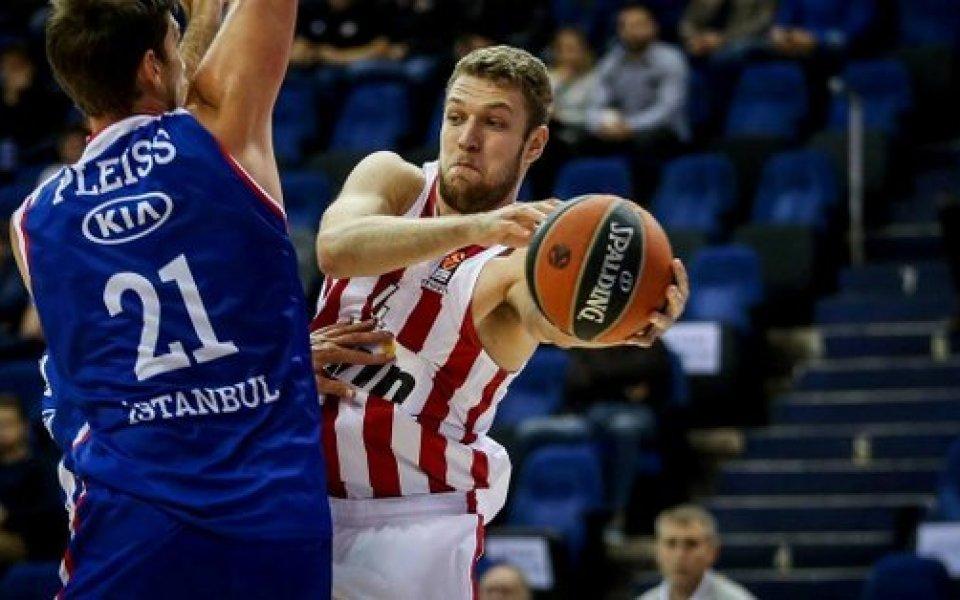 Везенков дебютира за Олимпиакос в гръцкото първенство