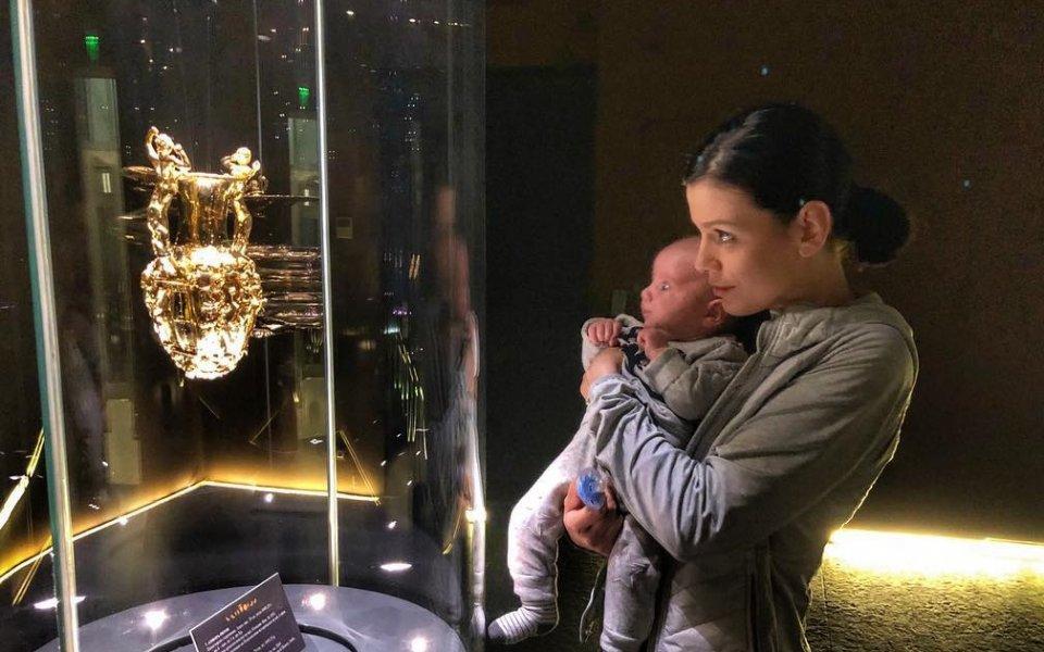 Синът на Теди Салпаров се запозна с Панагюрското съкровище