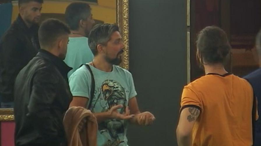 Oпит за барикада в Къщата на VIP Brother