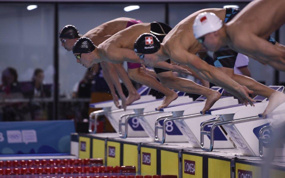 Янчев - последен в своята серия на 200 метра свободен стил