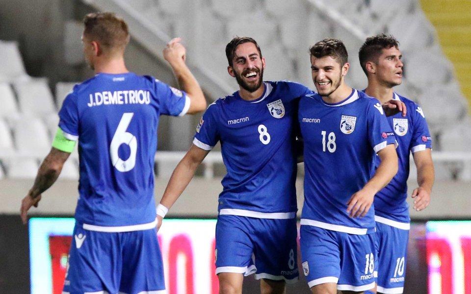 Седем нови в състава на Кипър за мача с България