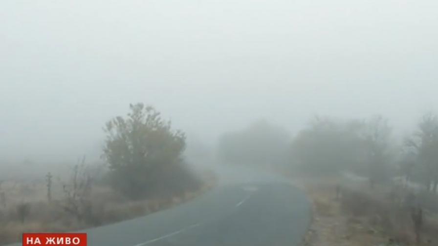 """Гъста мъгла на """"Тракия"""", правят тапа"""