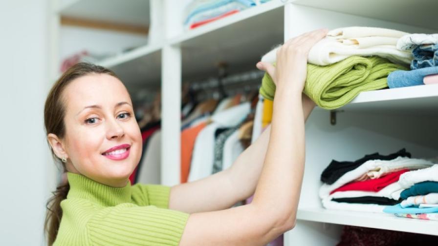Супер идеи, с които да подредите гардероба си (СНИМКИ)