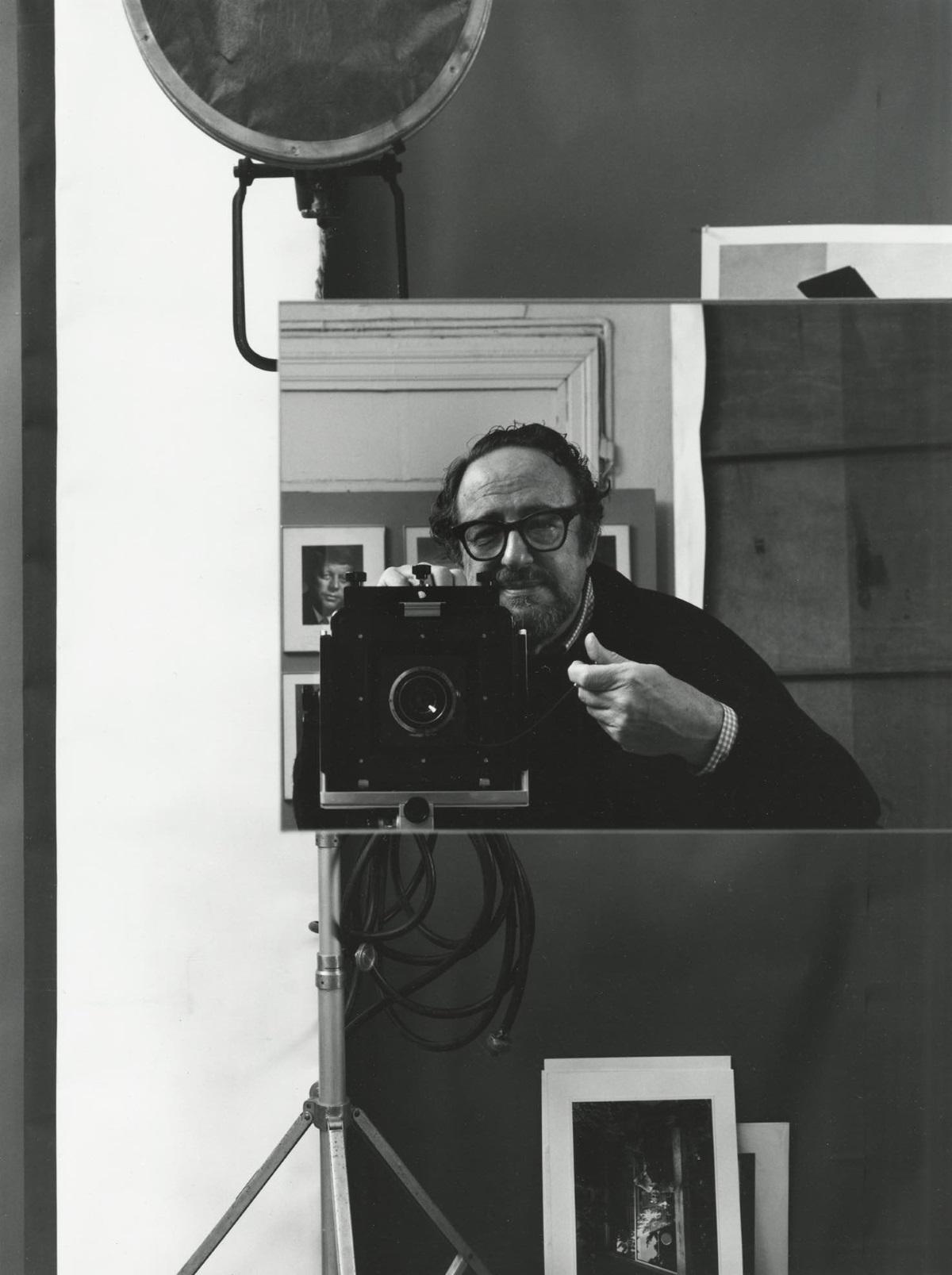 Автопортрет на Арнолд Нюман (1970 г.)
