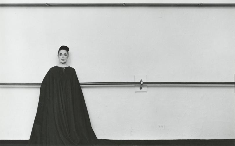 Хореографката Марта Греъм. Снимката е от 1961 г. Греъм есчитана за един от най-изтъкнатите пионери на модерния танц.