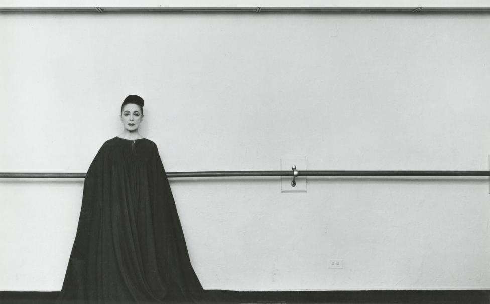 - Хореографката Марта Греъм. Снимката е от 1961 г. Греъм есчитана за един от най-изтъкнатите пионери на модерния танц.