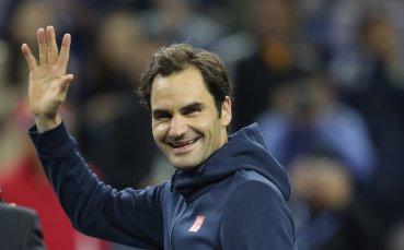 Федерер разкри,  че е играл с травма на ръката през лятото