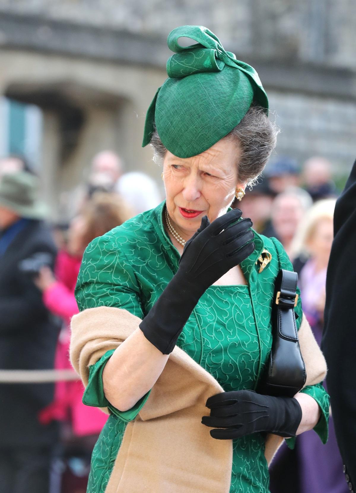 Дъщерята на кралица Елизабет II - принцеса Ан