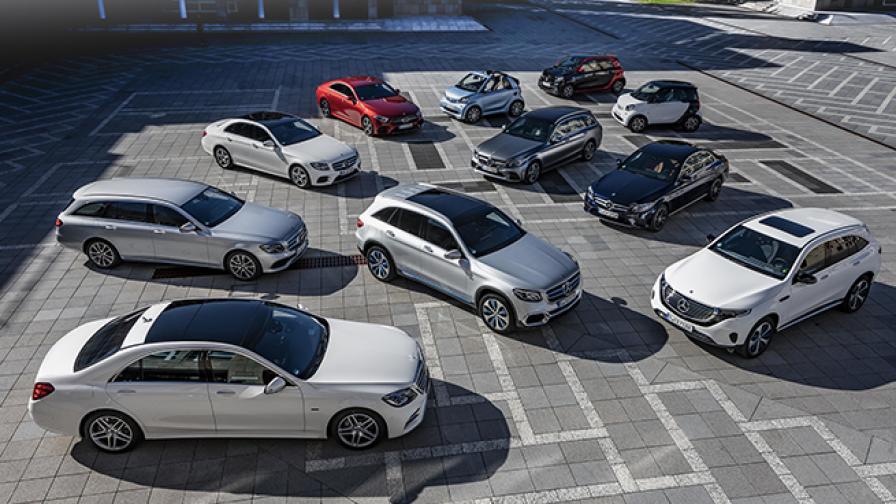 <p>Mercedes ще електрифицира 130 варианта в гамата си</p>