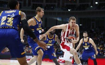 Олимпиакос с втора победа, Везенков с историческо постижение