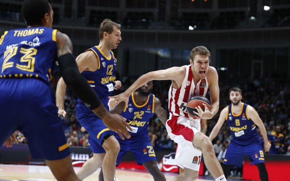 Везенков MVP при голям успех на Олимпиакос в Евролигата