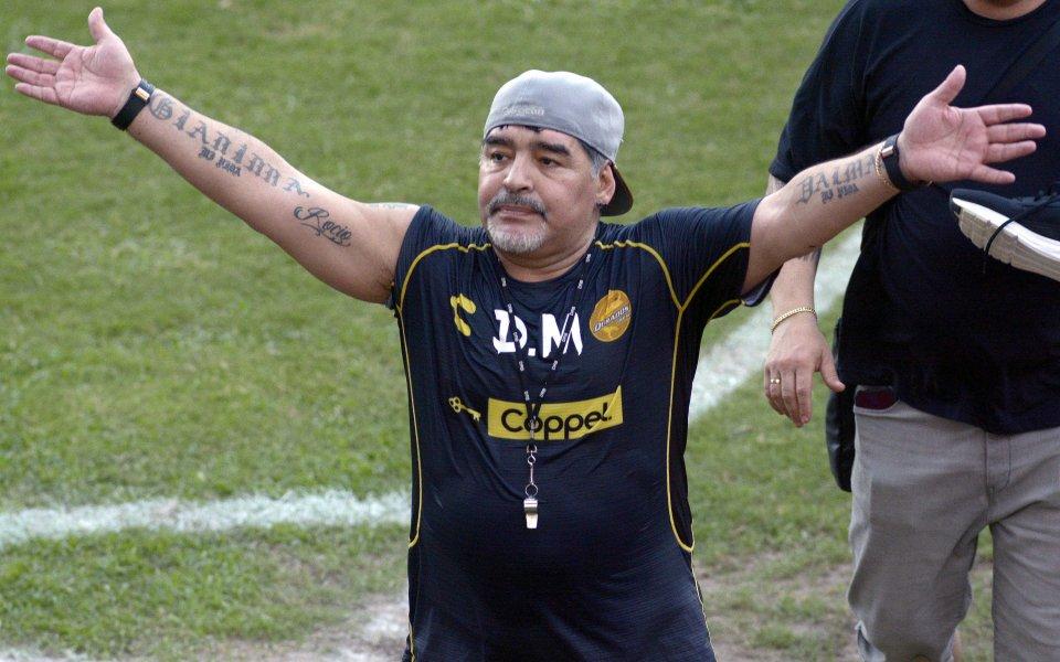Изписаха Диего Марадона от болница