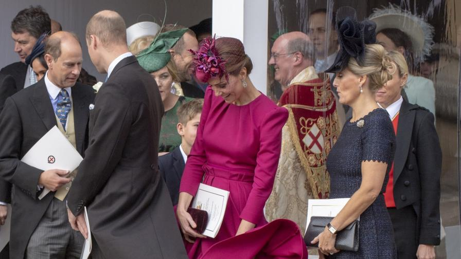 Най-смешните моменти от кралската сватба