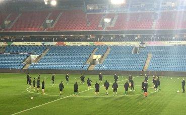 По вода започна тренировката на националите в Осло