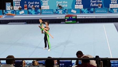 Второ олимпийско злато за акробатите ни, сребро на чук за Валентин Андреев