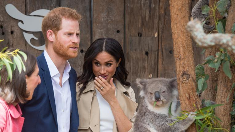 Първи бебешки вълнения за Меган и Хари в Австралия