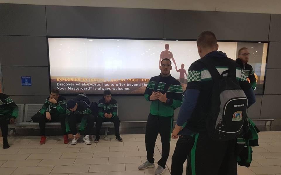 Баскетболистите на Балкан пристигнаха в Кипър