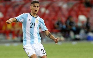 Дибала: Искаме Меси да се върне в националния отбор