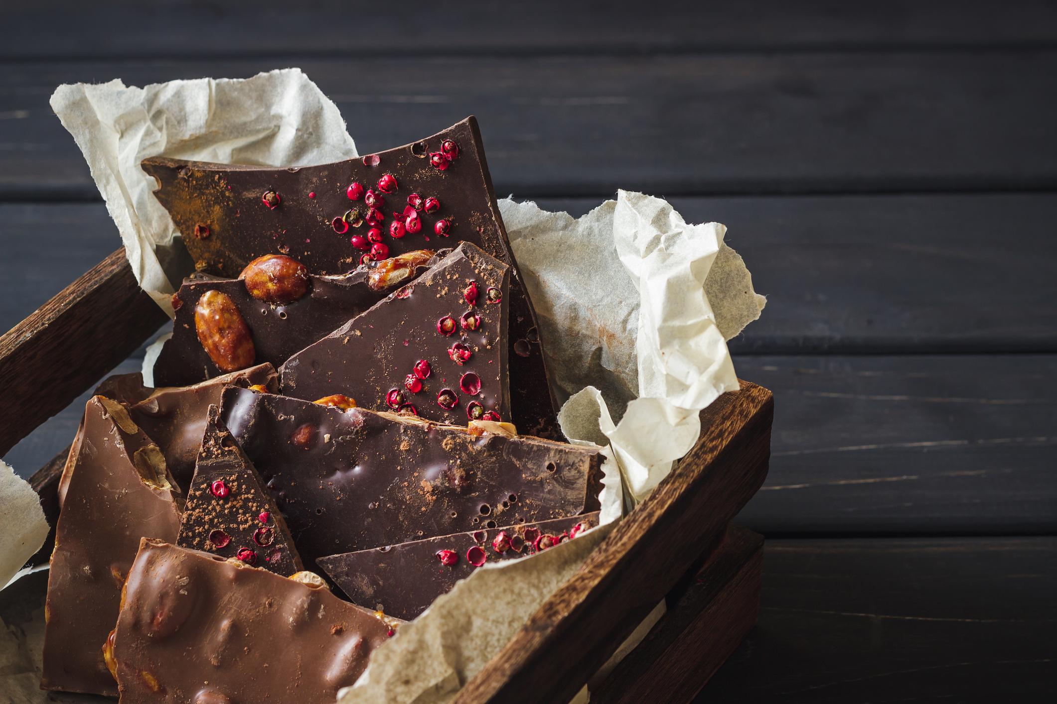 Шоколад и пипер