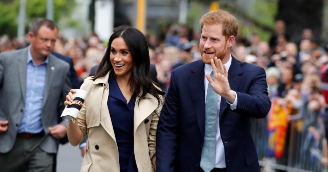 В третия ден от австралийската си обиколка принц Хари и