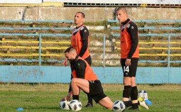 Черно море с последна тренировка в Пловдив преди мача с Ботев