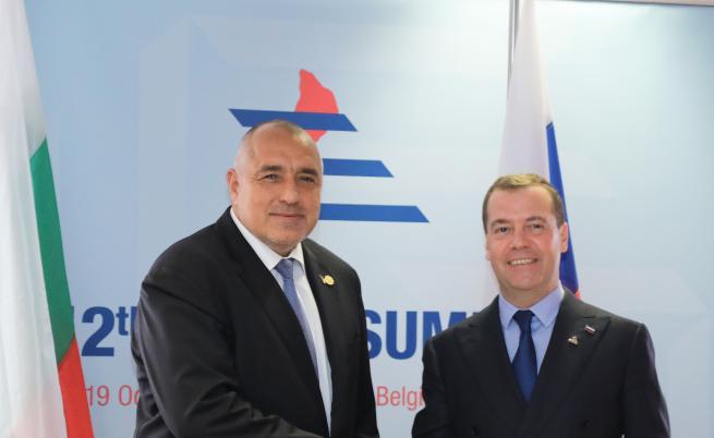 Медведев и Борисов разговаряха за енергетика