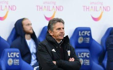 Треньорът на Лестър: Арсенал - претендент за титлата? Ще ги видим
