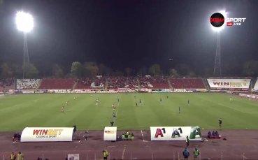 ЦСКА - Етър 1:0 /първо полувреме/