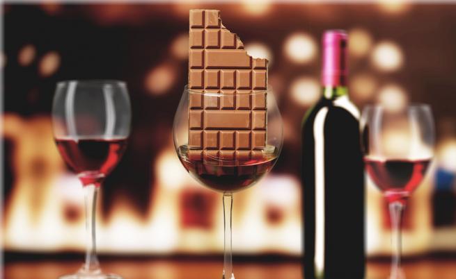 За дълголетие: консумирайте вино и шоколад