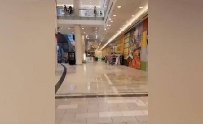 Авария в столичен мол предизвика наводнение