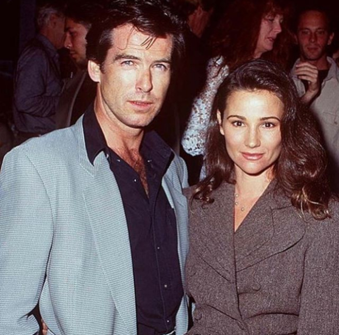 Пиърс Броснан и съпругата муКийли Шей Смит. През август двамата отпразнуваха 25 години брак.