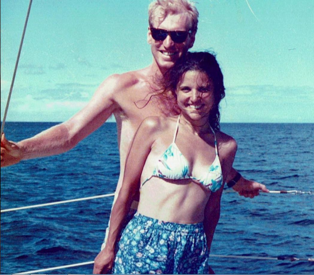 Актрисата Джулия Луис Дрейфъс и съпругът ѝ Брад - заедно са от повече от 30 години.