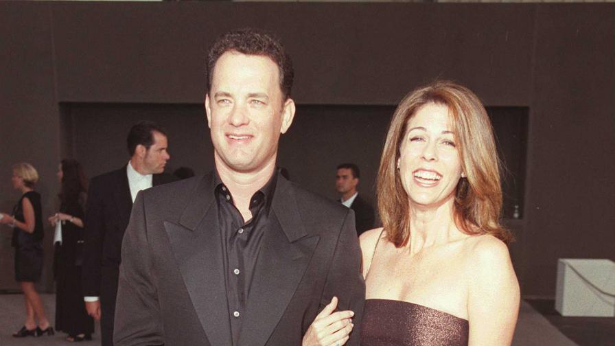 Том Ханкс и съпругата му Рита