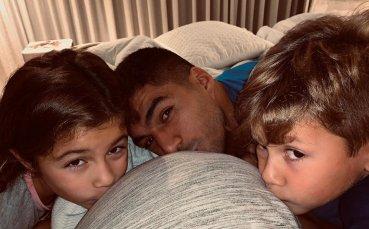 Освен Меси и Суарес пропусна тренировката на Барса преди Интер