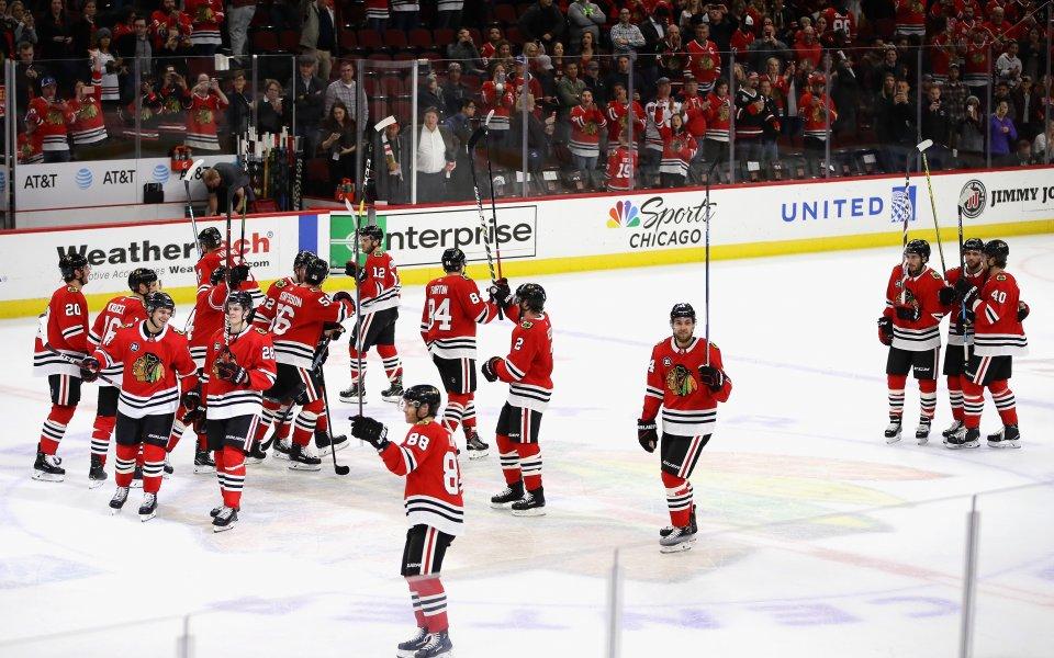 Чикаго с категорична победа над Уинипег в НХЛ